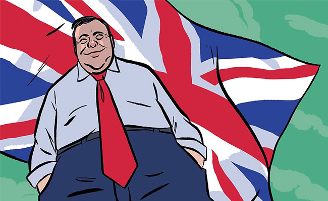 The Chaotic Triumph of Arron Banks, the 'Bad Boy of Brexit'